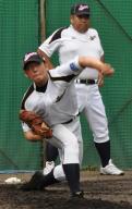 桐光学園・松井がブルペン34球 - 高校野球ニュース
