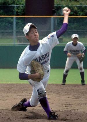 プロ注目の148キロ左腕、東福岡の森雄大 プロ注目の148キロ左腕、東福岡の森雄大 第94回全国
