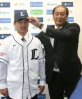 西武 郭俊麟が会見「大好きなプロ野球」 - プロ野球ニュース