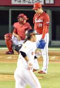 広島野村6失点6敗目「初回がすべて」 - プロ野球ニュース