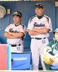 小川監督ヒースにお手上げ「いいボール」 - プロ野球ニュース