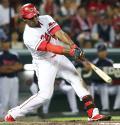 広島ロサリオが適時打「うまく拾えた」 - プロ野球ニュース