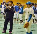 ロッテ井口 須賀川市に寄付&野球教室 - プロ野球ニュース