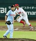 広島石原、昨年7月以来の猛打賞 - プロ野球ニュース