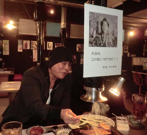 プロレスラーの大仁田厚が焼き肉店で4万5000円相当を飲み食いし無断飲食