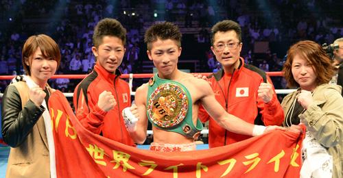 井上尚弥、家族で作り上げた世界王者 - ボクシングニュース : nikkansports.com