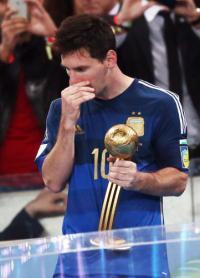 メッシMVP選出「個人的に少し驚いた」 | アルゼンチン | ブラジルW杯 : nikkansports.com