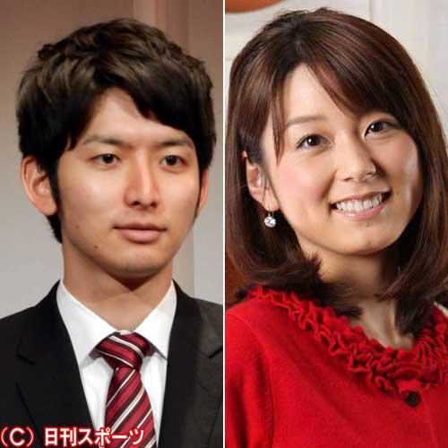 フジ秋元優里、生田竜聖アナが結婚