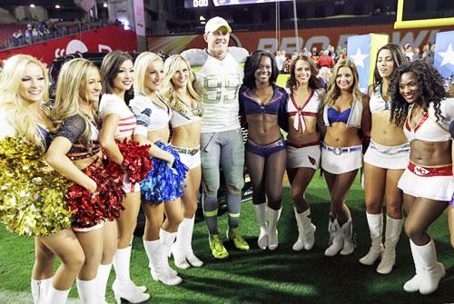 プロボウルでワットらMVP獲得 NFL