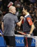 錦織vsアガシ氏の夢の対戦が実現 - テニスニュース