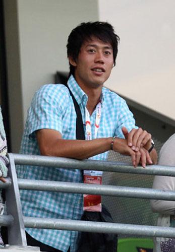 錦織がサッカー日本代表応援 香川に刺激