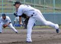 【横浜】リーチ初登板3回1安打無失点 - 野球ニュース