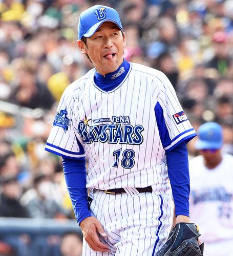 DeNA三浦大輔(写真は2015年3月15日)