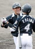 ロッテ清田「中日キラー」弾 - 野球ニュース