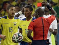 エクアドル微妙判定で南米唯一1次L敗退