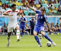 ボスニアH歴史的初勝利 イラン未勝利敗退