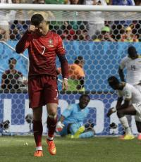 Cロナ決勝点でポルトガル初勝利も及ばず
