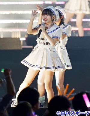 向井地美音(写真は2013年6月5日)