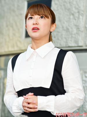 矢口真里(写真は2014年10月23日)