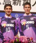 広島に初のグルジア人助っ人 - サッカーニュース