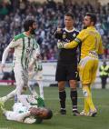 Cロナがキレた DF蹴り一発退場 - スペインリーグニュース