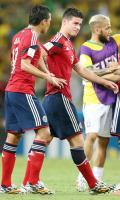 ハメス右足骨折、全治2カ月 - スペインリーグニュース