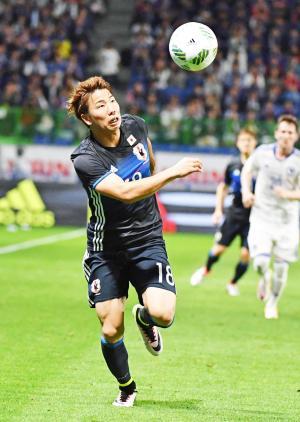 日本代表FW浅野拓磨(写真は2016年6月7日)