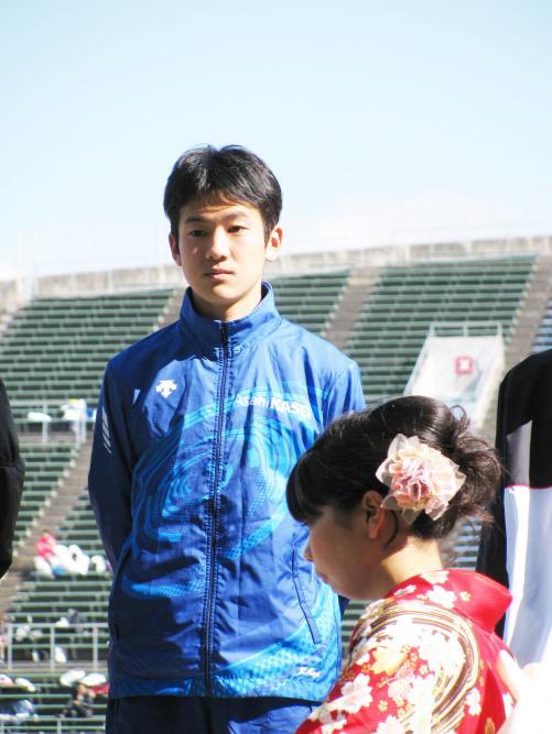 日本人トップの3位に入った20歳の茂木圭次郎(撮影・益田一弘)