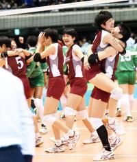 下北沢成徳が45年ぶり東京対決に圧勝 - バレー : 日刊スポーツ