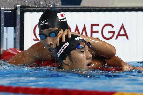 瀬戸が悲願の金!萩野は5位/世界水泳